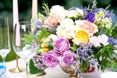Watercolour Garden Wedding Inspiration