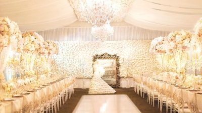 Luxurious Marriage ceremony Reception Inspiration