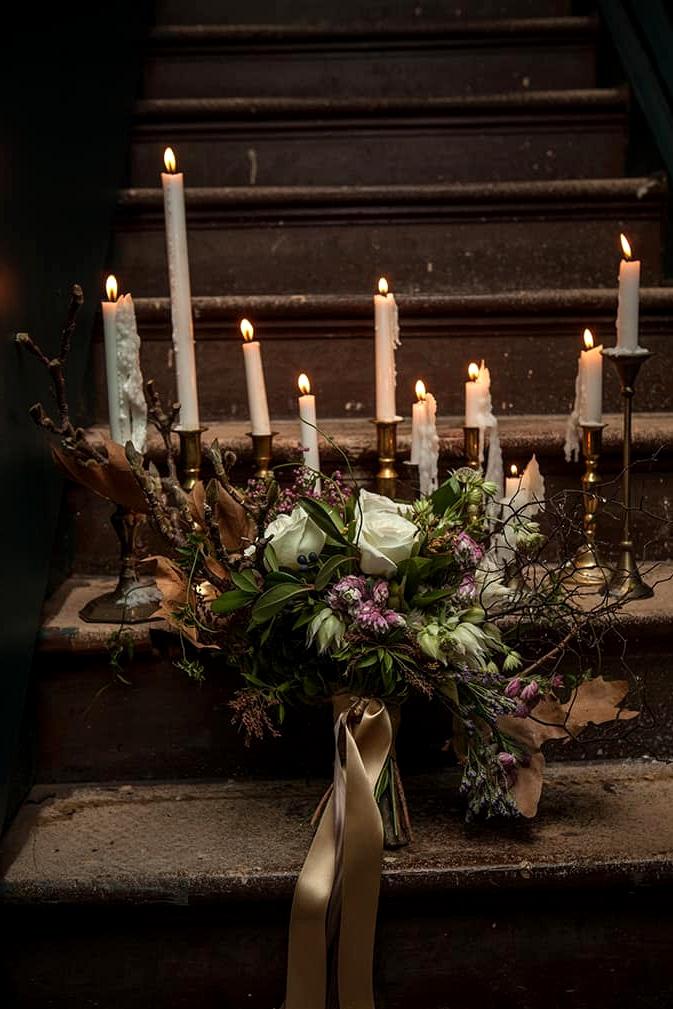 Glamorous-1920s-Wedding-Inspiration-Bouquet