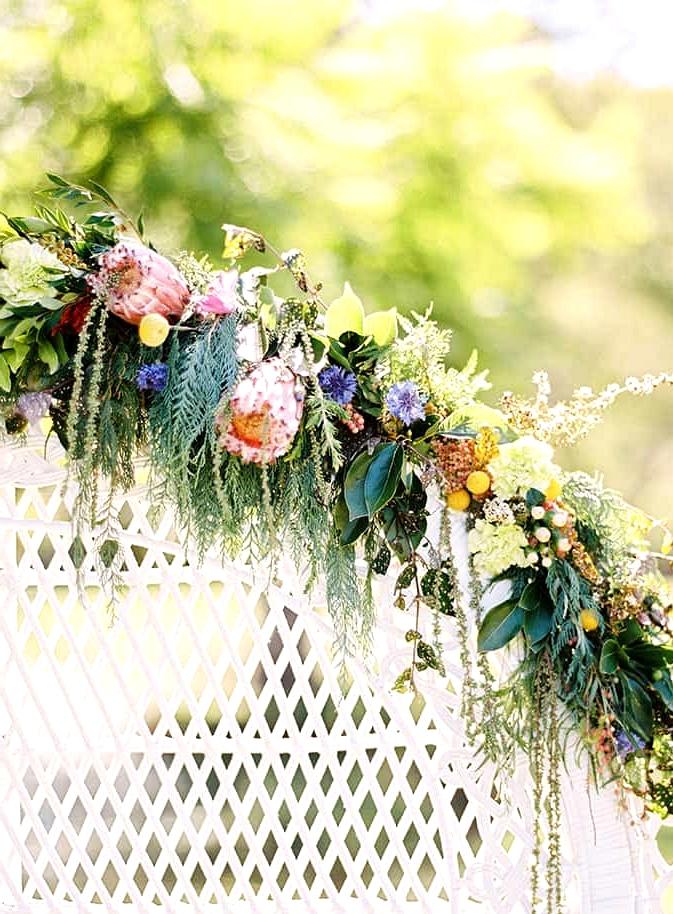 Natural-Bohemian-Wedding-Inspiration-Bright-Australian-Native-Flowers-Peacock-Chair