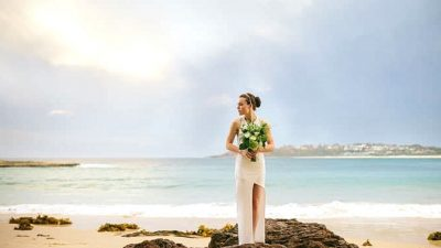 Floral Infused Seashore Wedding ceremony Inspiration