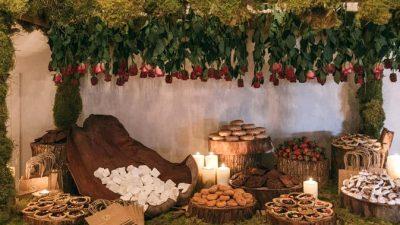 Whimsical Backyard Wedding ceremony Reception Design File