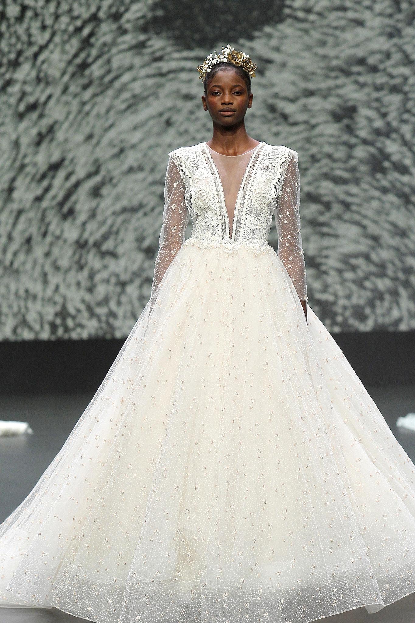Vestal wedding dress