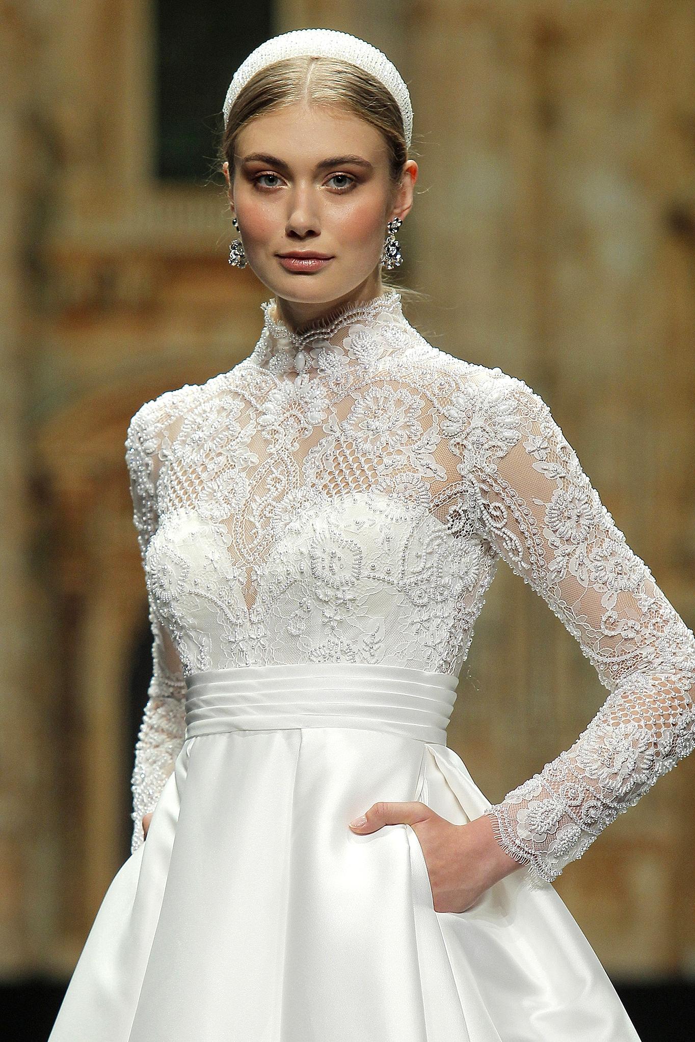 Nicole Milano gown