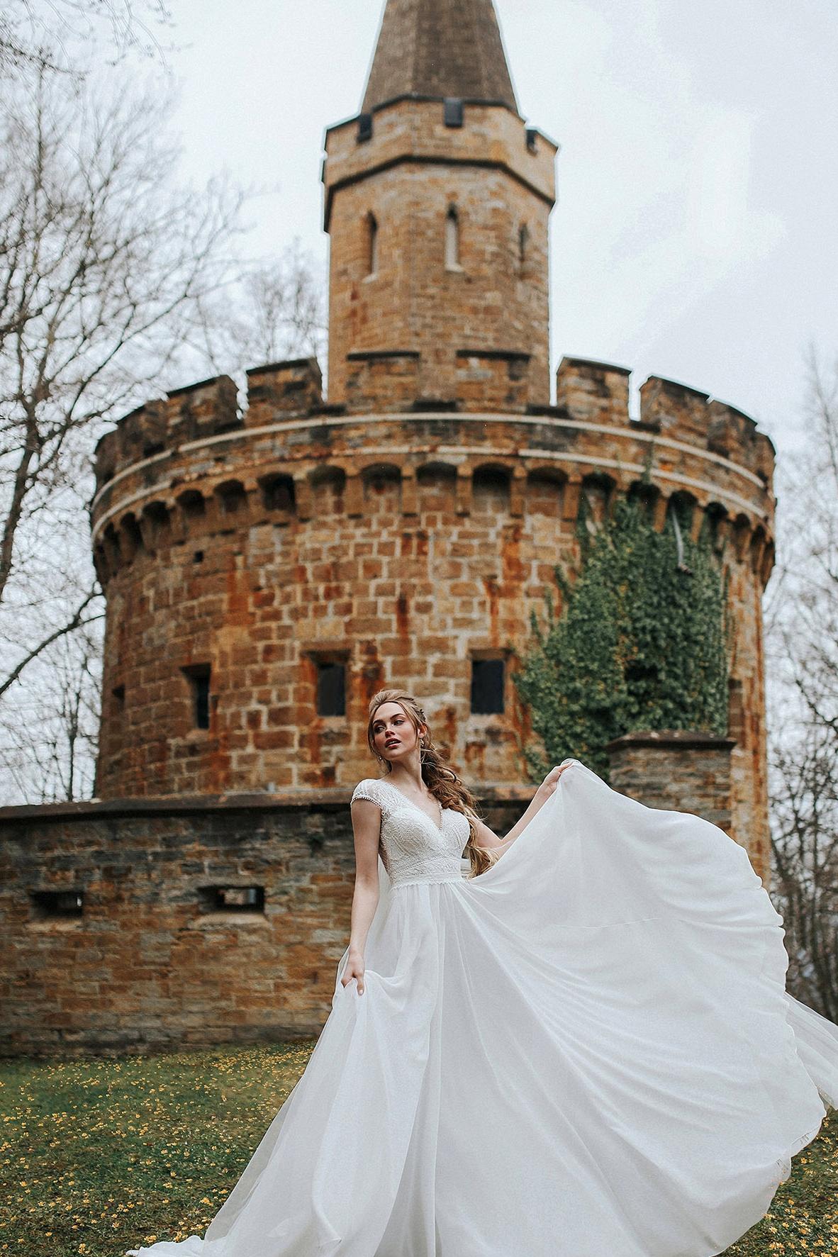 Rapunzel Wedding Dress by Allure Bridals