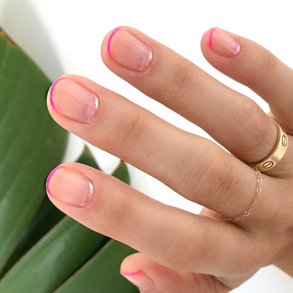 shimmer cuticle manicure
