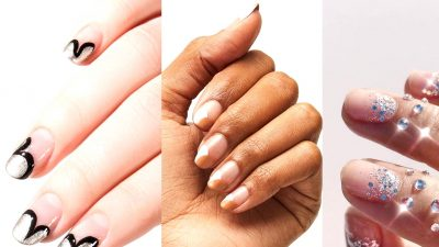 Stylish + Cheeky Nail Artwork Concepts for Your Bridal Manicure