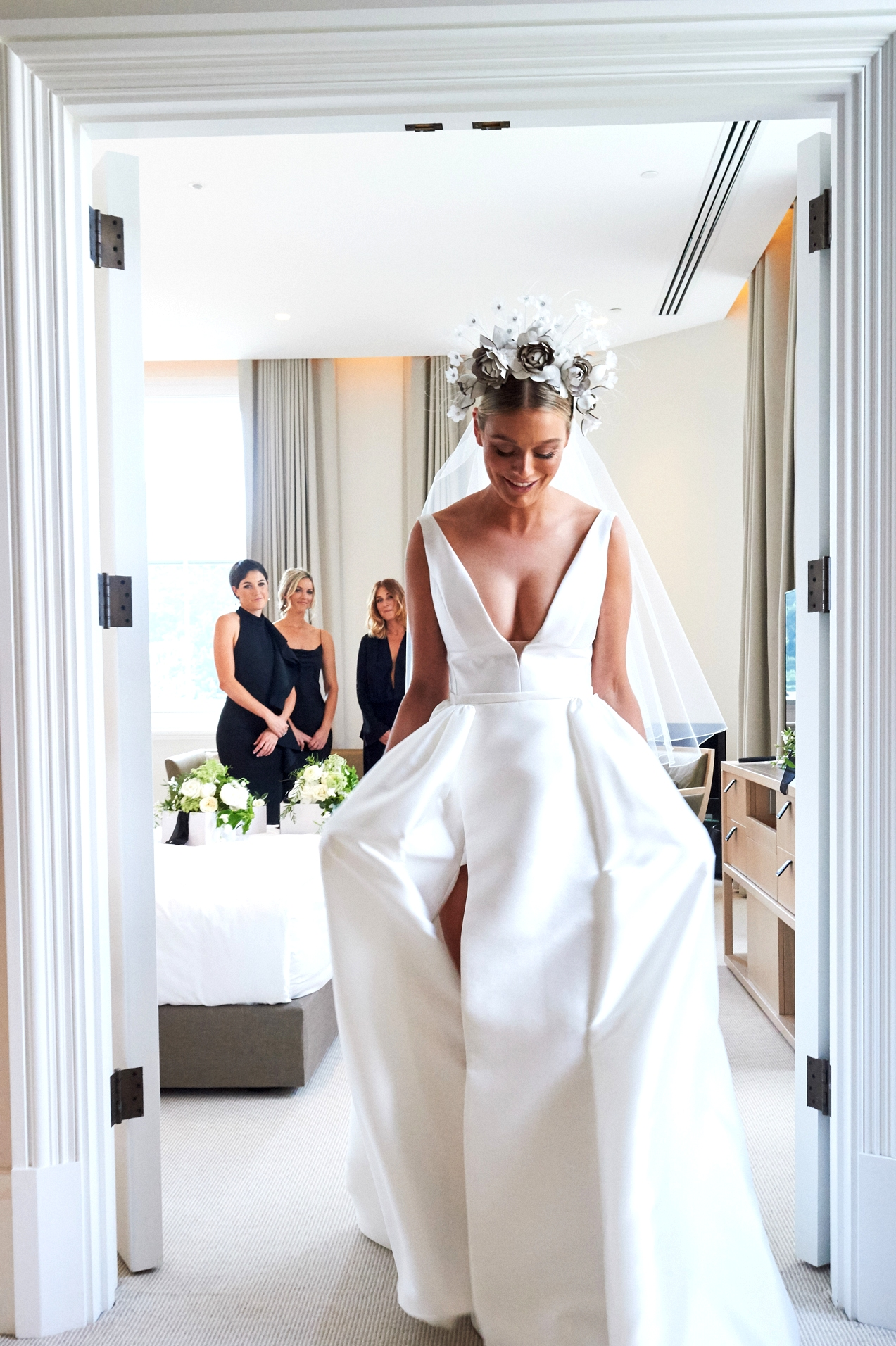 Top Bridal Hairpiece Trends for 2019