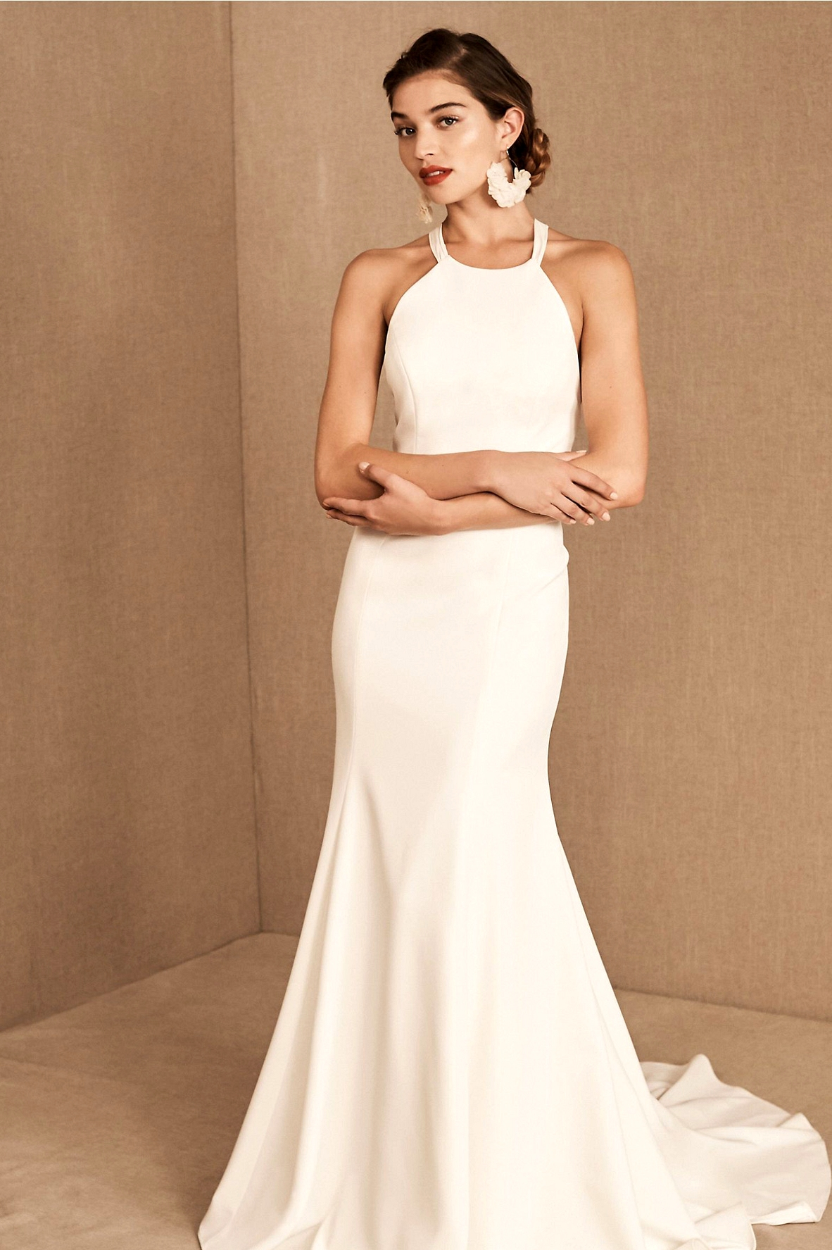 Sleek BHLDN 2020 Gown