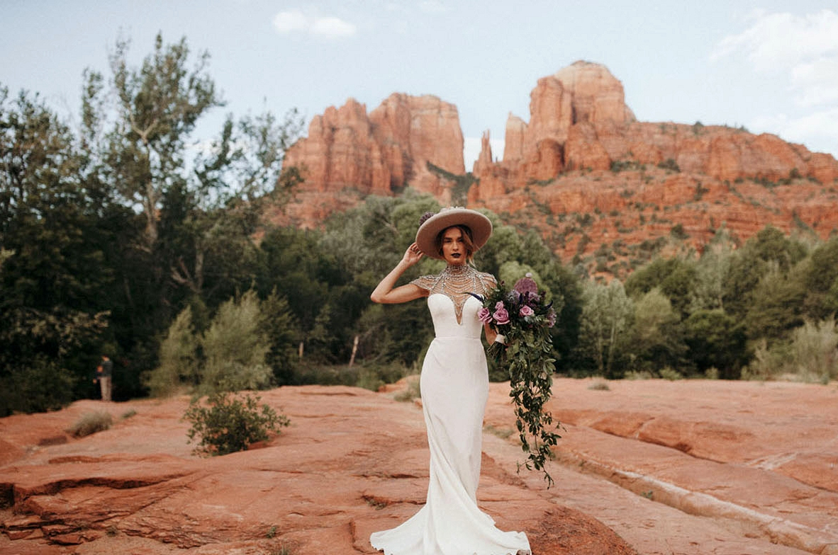 Bridal Trend with Hats