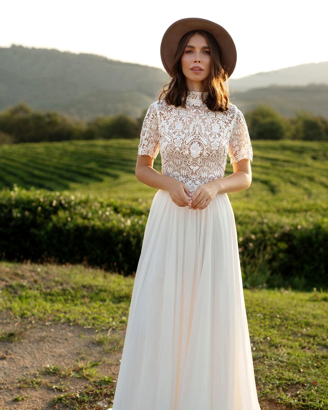 boho wedding dress Etsy