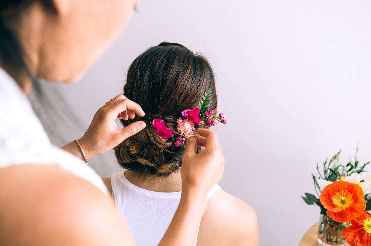 Dutch Flower Braid