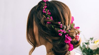 Hair Tutorial: Dutch Flower Braid