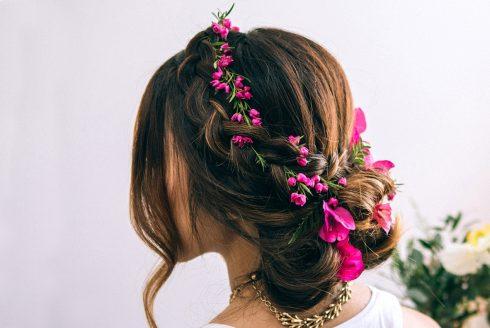 Hair Tutorial: Dutch Flower Braid