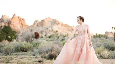 Fairly in Pink: Our Favourite Blush Wedding ceremony Clothes