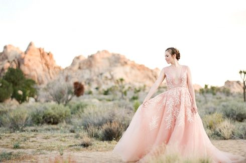 Pretty in Pink: Our Favorite Blush Wedding Dresses