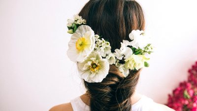 Hair Tutorial: Flower Fishtail Braid