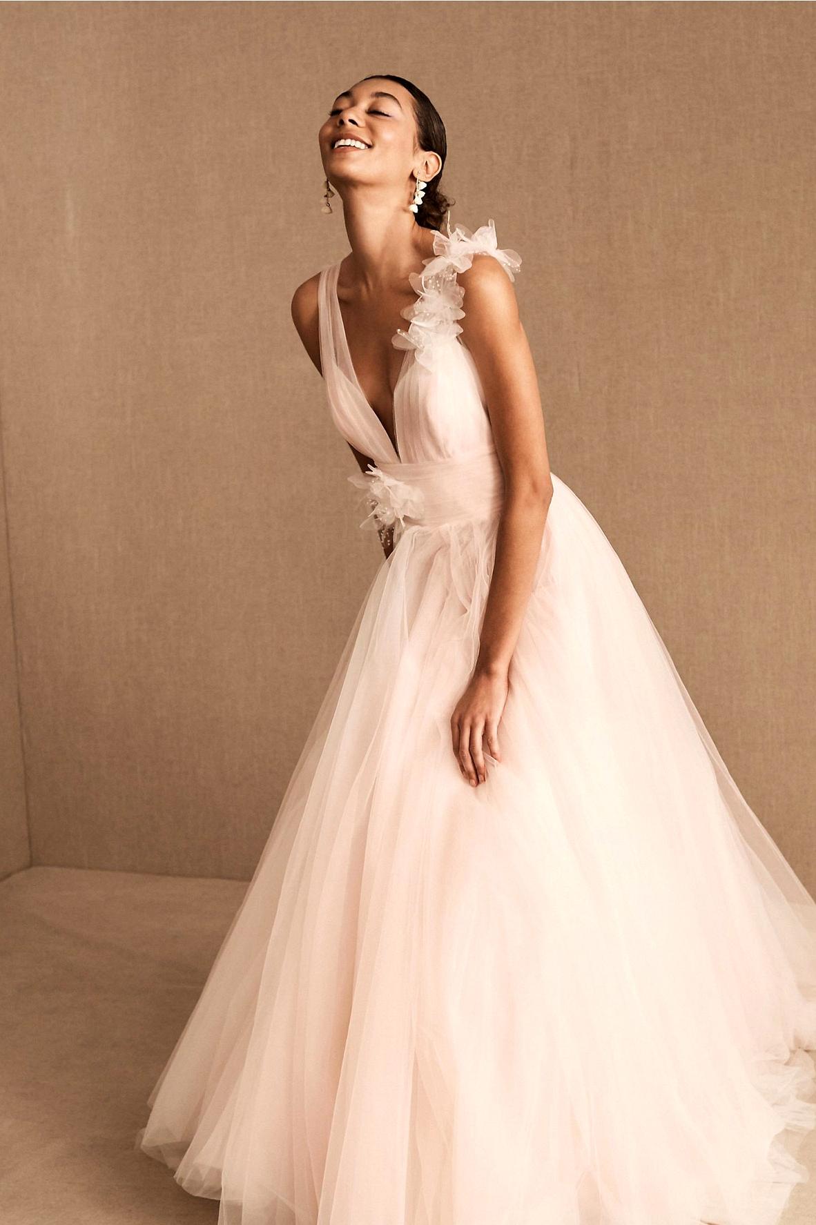 BHLDN 2020 Gown- Romantic Garden