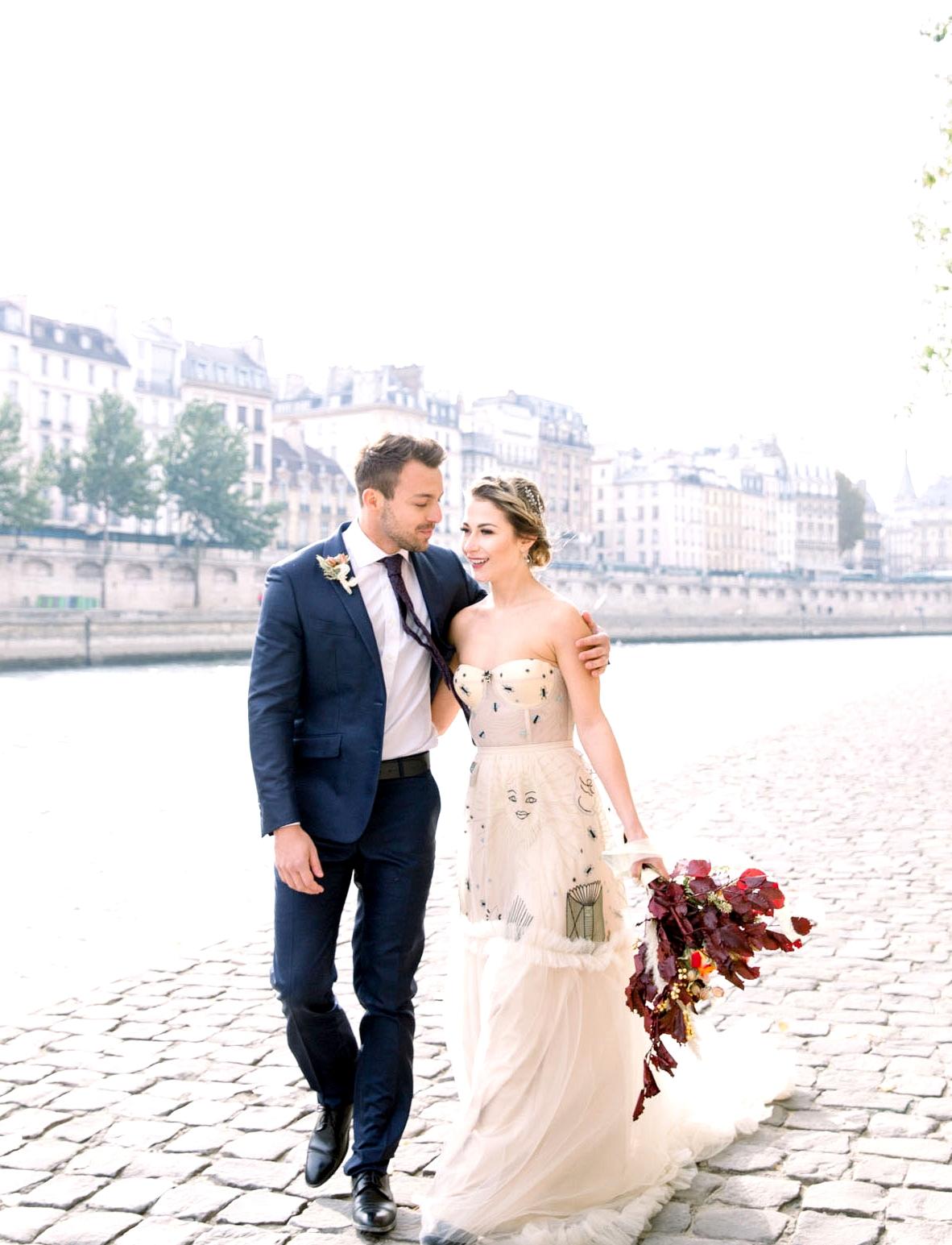 Dreamy Paris Elopement