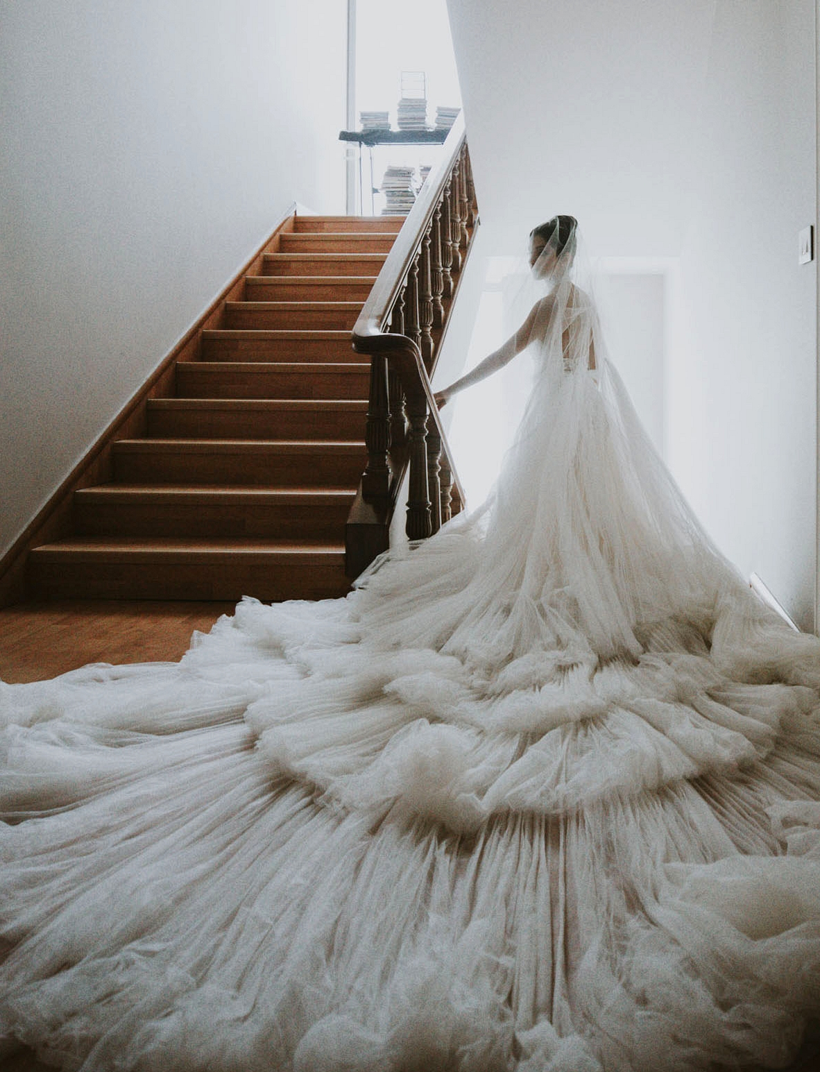 Hassan Idriss Wedding Dress