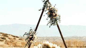 Pattern Alert! 25 Unimaginable Pampas Grass Wedding ceremony Concepts