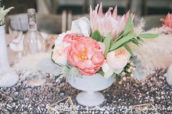 Cool Pampas Grass Wedding Idea