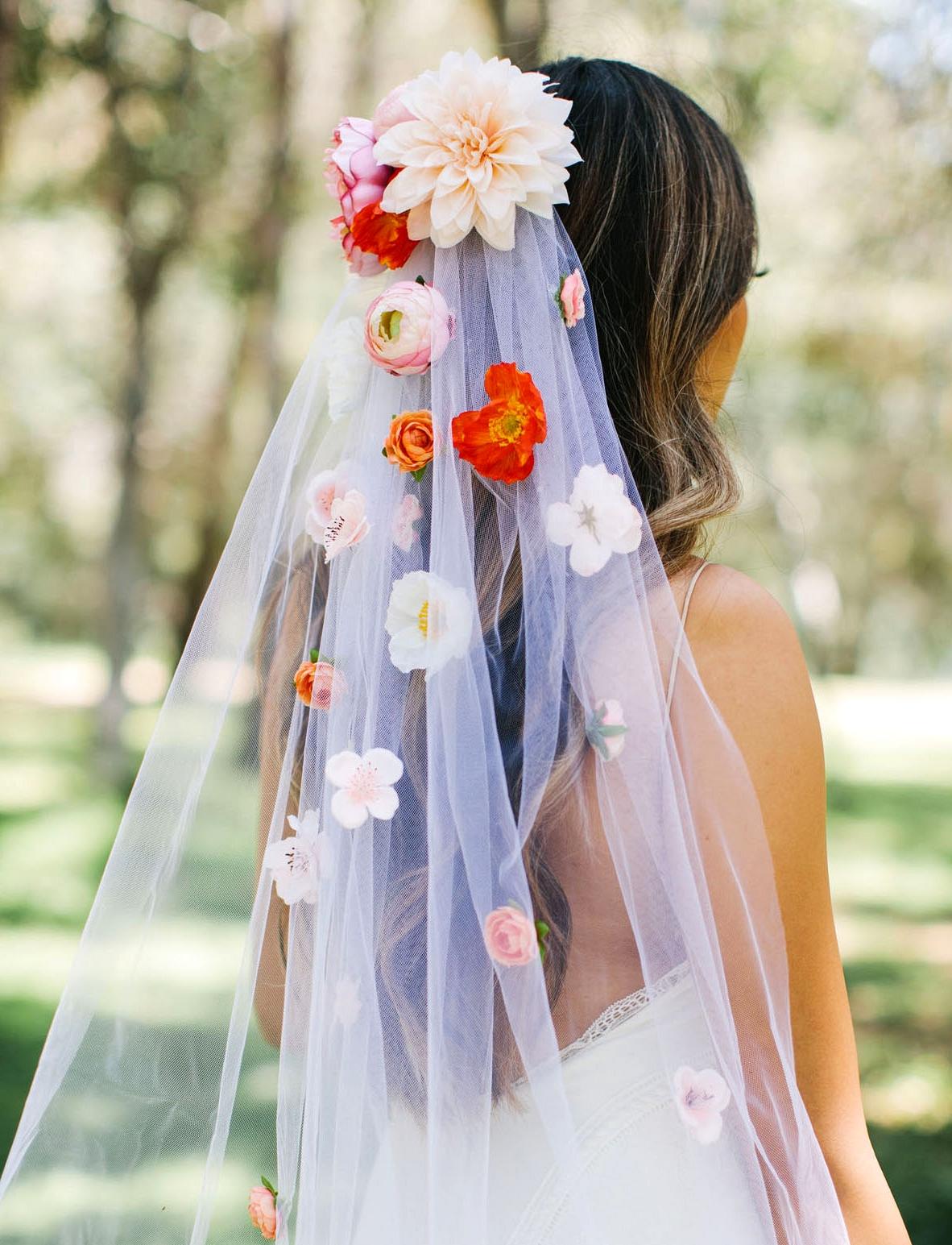 GWS x Afloral Floral Veil DIY