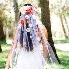 Make Your Own Custom Silk Flower Veil!