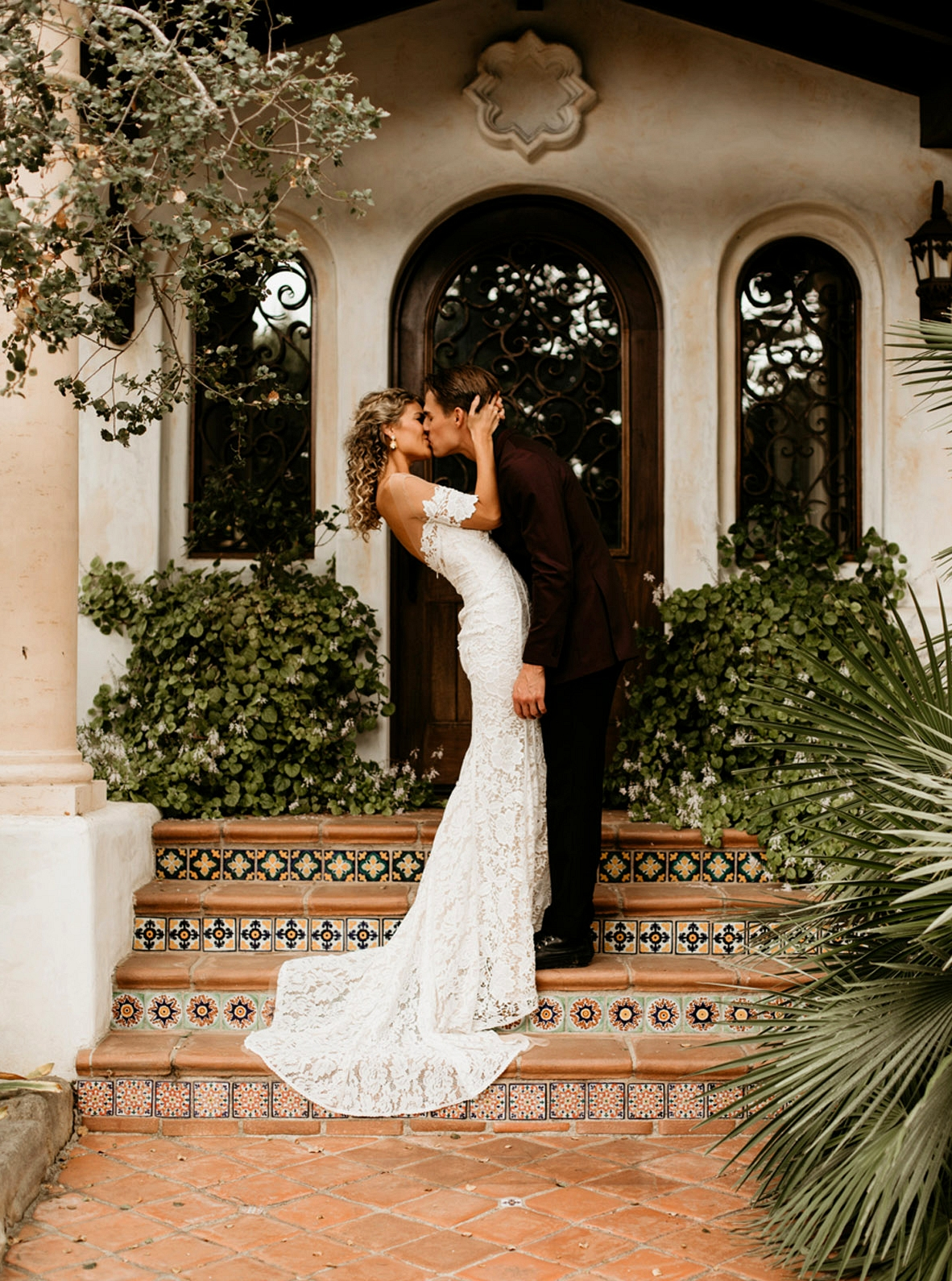 carter gown by Lovers Society x Green Wedding Shoes in Hawaiian Wedding