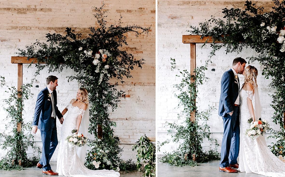 Carter Wedding Dress for a Chic Warehouse Wedding