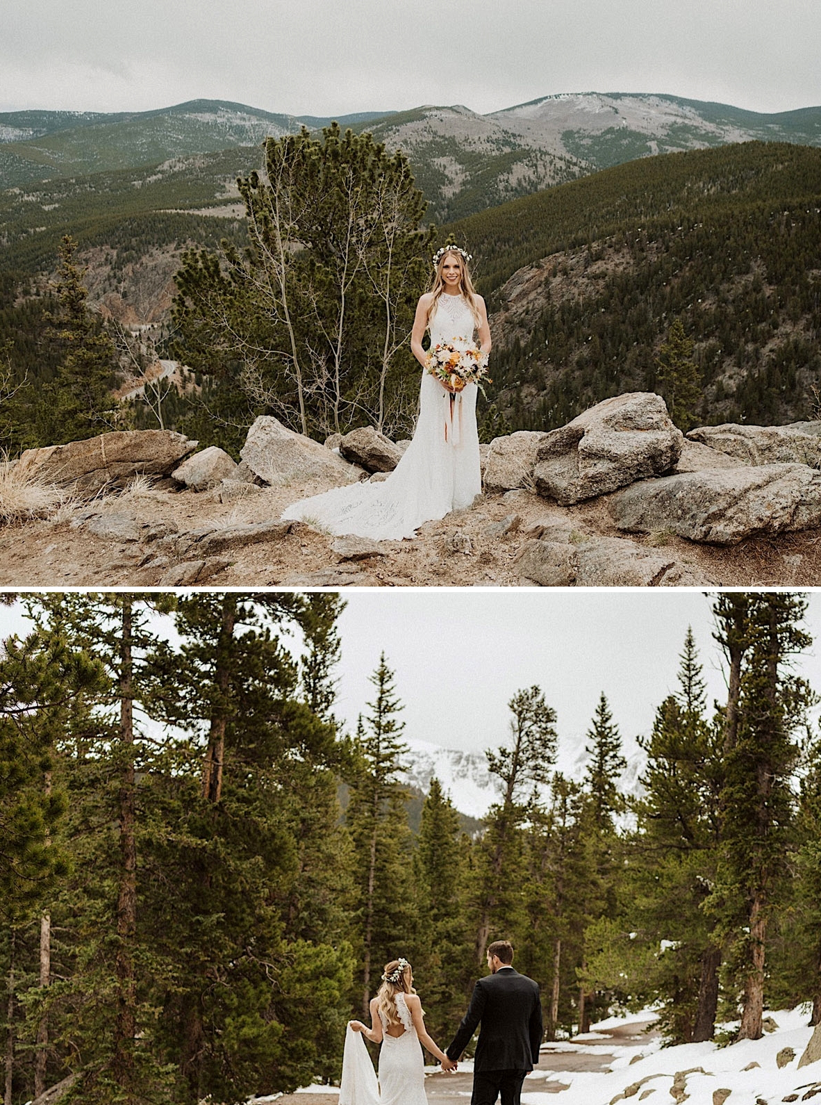 phoenix lace wedding dress by lovers society x green wedding shoes