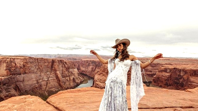 "Rue de Seine Launches Southwest-Impressed ""Moonrise Canyon"" Marriage ceremony Gown Assortment TODAY!"