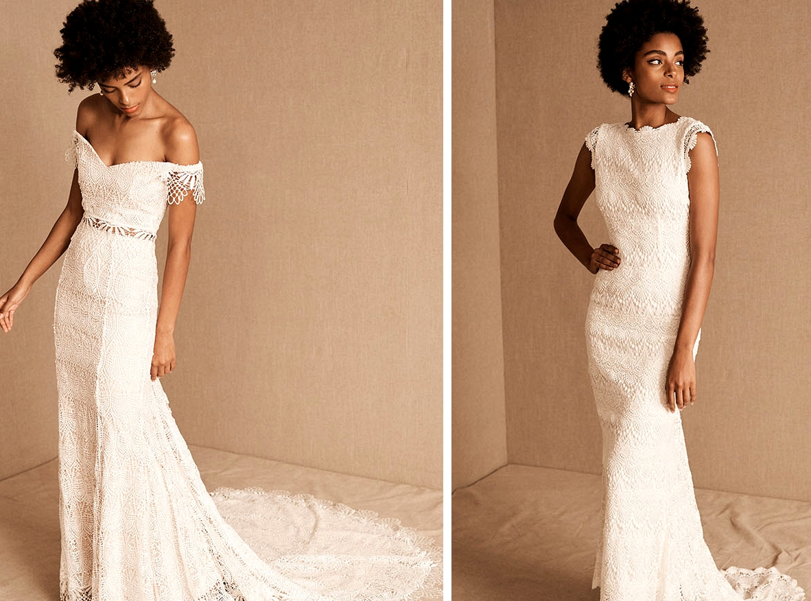 BHLDN Beaded Wedding Dresses