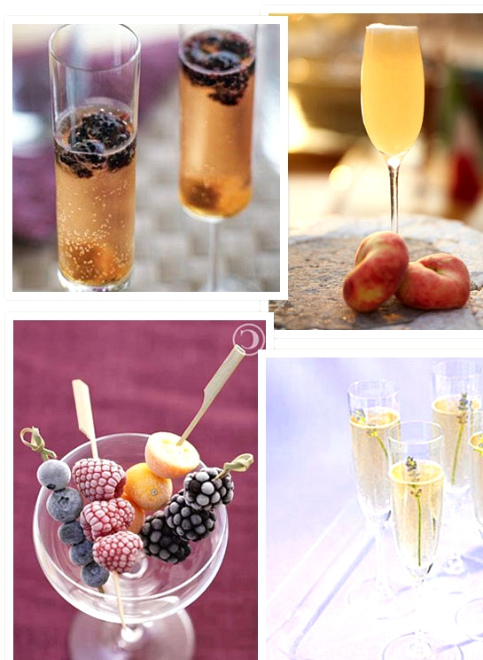 Champagne Wedding Cocktails