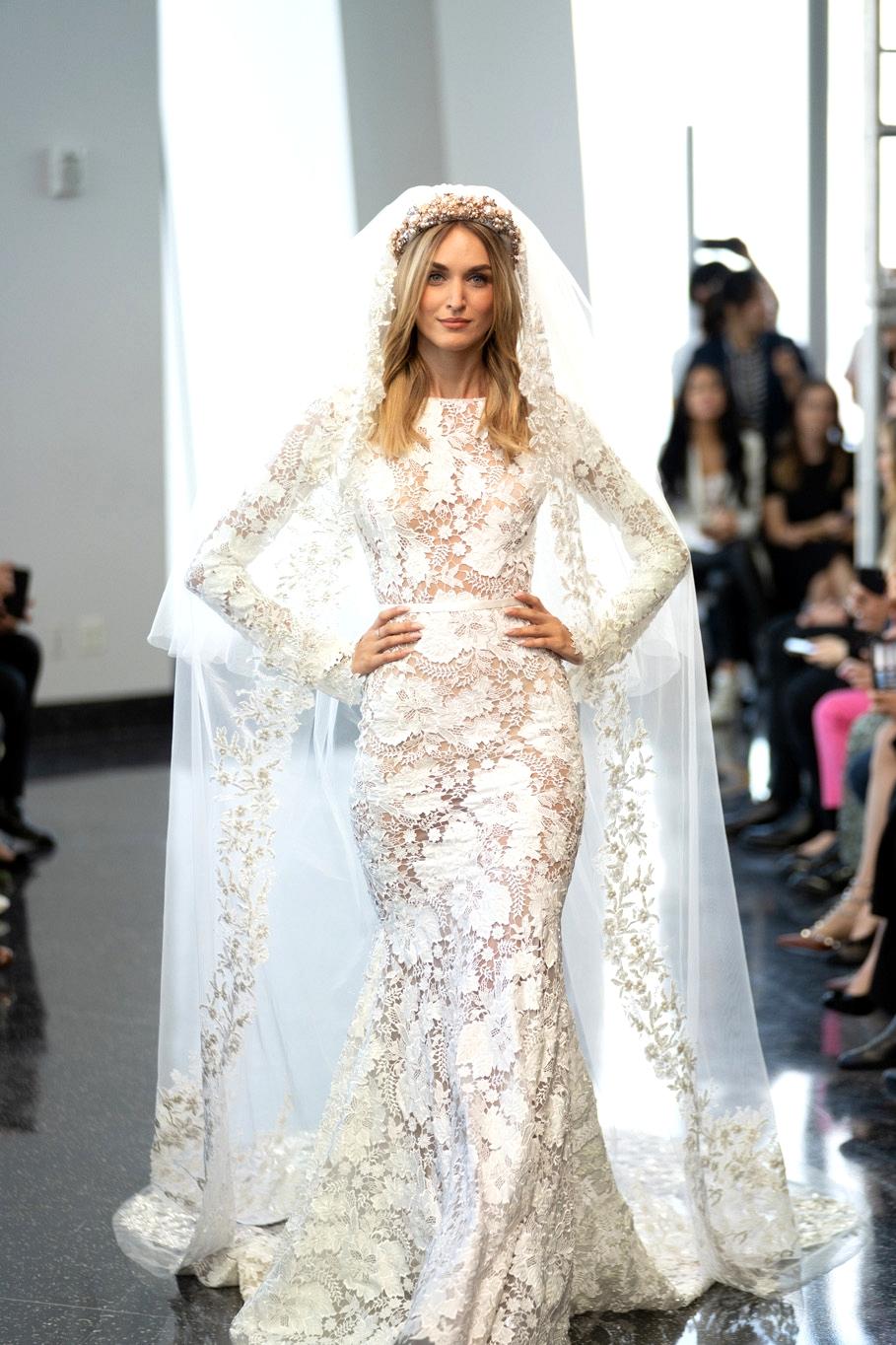 Berta Lace Wedding Dress