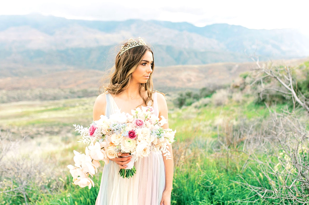 Rainbow Wedding Dress Inspiration