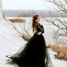 Paint It Black... Our Favorite Black Wedding Dresses!