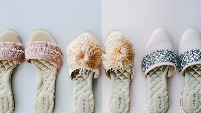 Say Bye-Bye to Flip Flops and Slip into the New Birdies Bridal Assortment