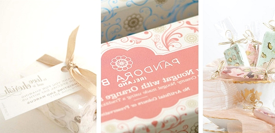 Nougat // 13 Sweet Edible Wedding Favour Ideas // www.onefabday.com