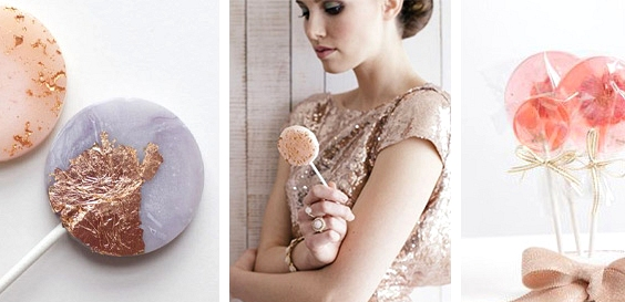 Lollipops // 14 Sweet Edible Wedding Favour Ideas // www.onefabday.com