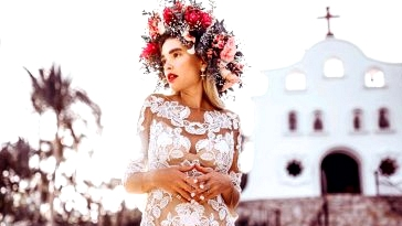 For the Boho-Lovin' Bride: Formally Quigley in our Lovers Society x GWS Wedding ceremony Clothes