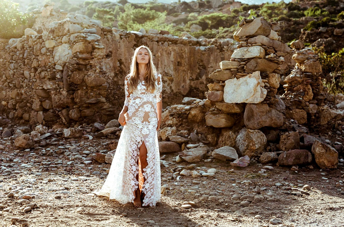 Lovers Society x Green Wedding Shoes in Crete