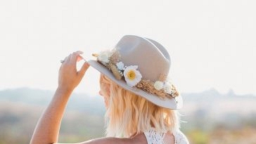 DIY Your Personal Flower Hat For a Boho Marriage ceremony Look