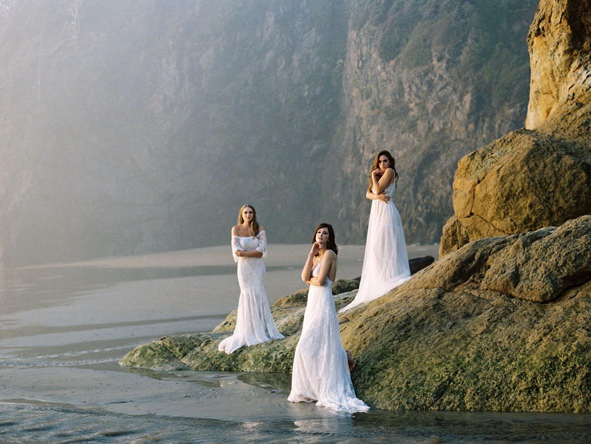 Allure Bridals: Boho Wedding Dresses by Wilderly Bride