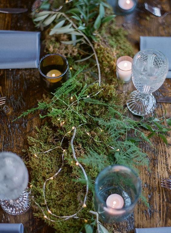 Moss Wedding Ideas  