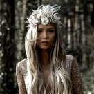 Reign Supreme with These Dried Flower Crowns + More Bridal Hair Ideas!
