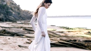 Liquid Mild: Ethereal Wedding ceremony Robes from Karen Willis Holmes