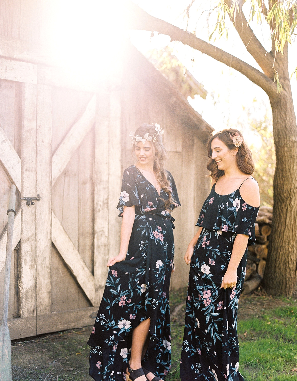 Show Me Your Mumu x Green Wedding Shoes bridesmaid dresses