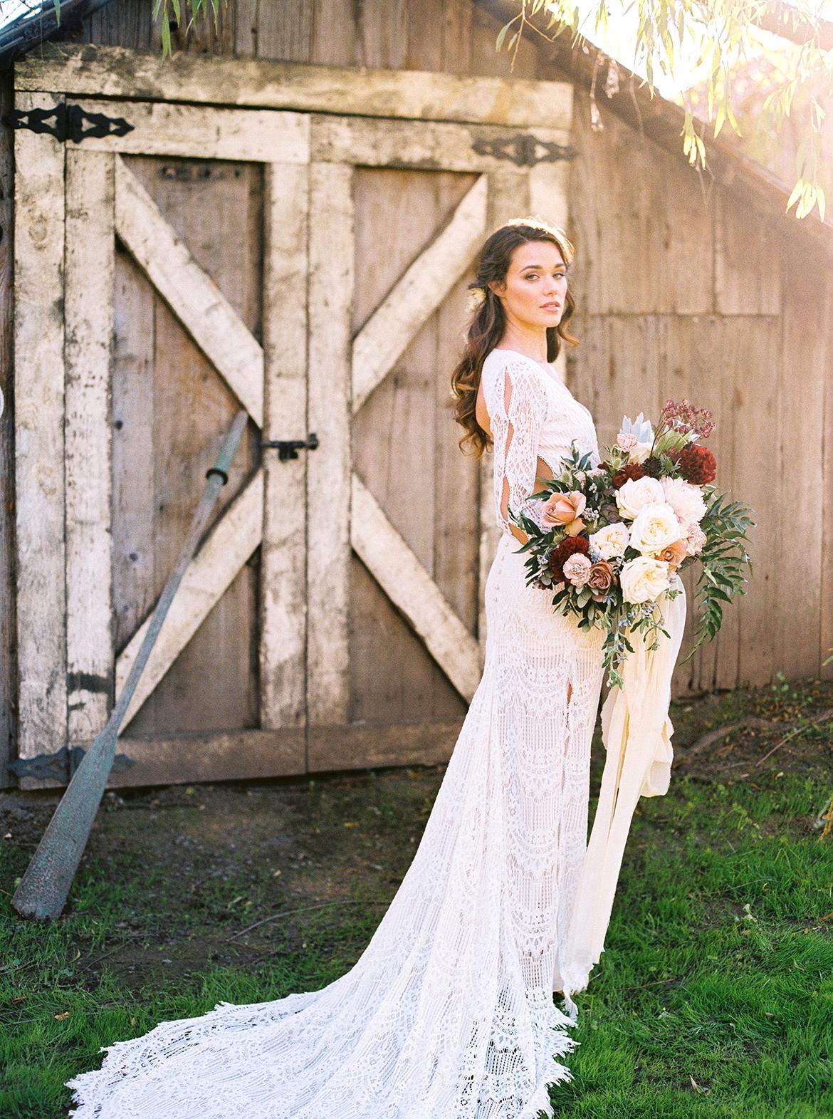 Daughers of Simone wedding gown