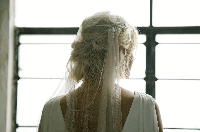 headpiece veil